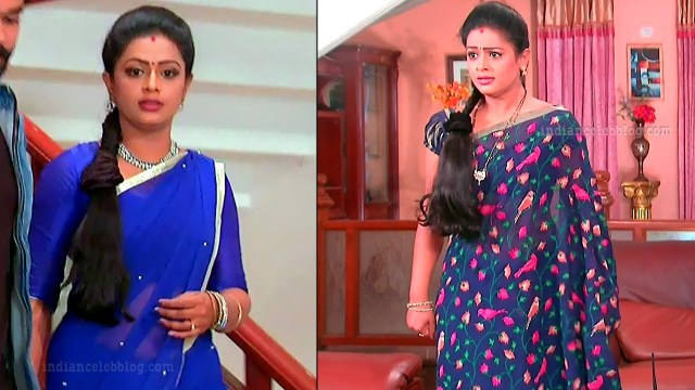 Anusri Telugu TV serial actress MscC5 10 sari pic