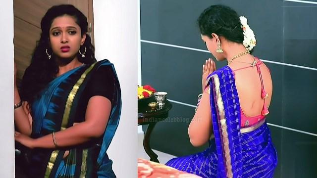 Apoorva bharadwaj kannada tv actress S2 4 saree photo