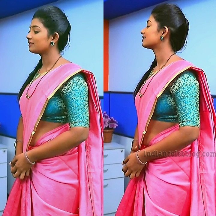 Bhoomi shetty kinnari kannada serial actress S4 12 sari pics