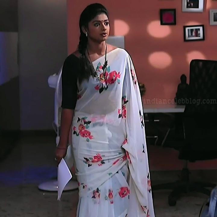 Bhoomi shetty kinnari kannada tv actress S4 1 saree photo