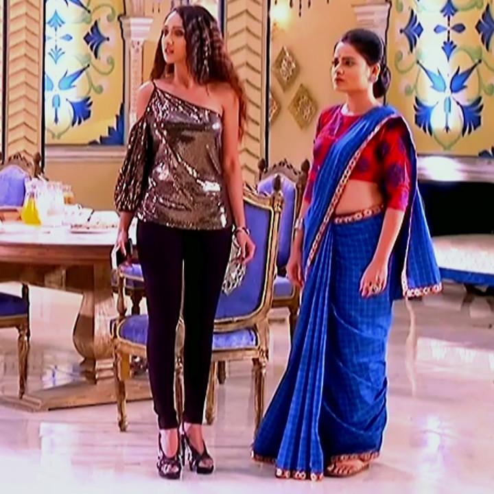 Dolphin dubey Tu Ashiqui actress TuAS2 9 sari caps