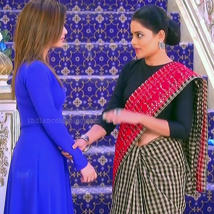 Dolphin dubey hindi TV actress TuAS2 12 sari caps