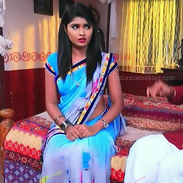 Manya anand kannada TV actress BiliHS2 13 saree caps