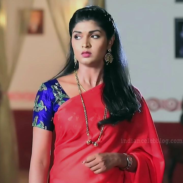 Manya anand kannada TV actress BiliHS2 7 sari photo