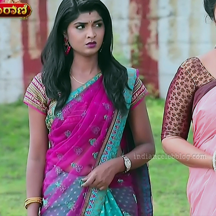Manya anand kannada TV actress BiliHS2 9 hot sari photo