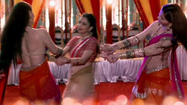 Rubina dilaik shakti astitva tv actress S7 13 hot saree pics