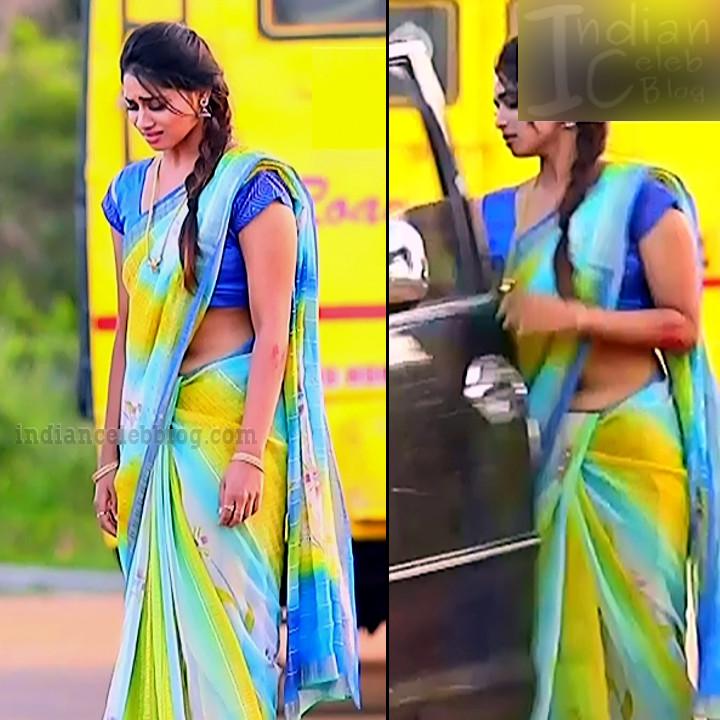 Shivani pagal nilavu S1 1 tamil tv serial actress saree pics