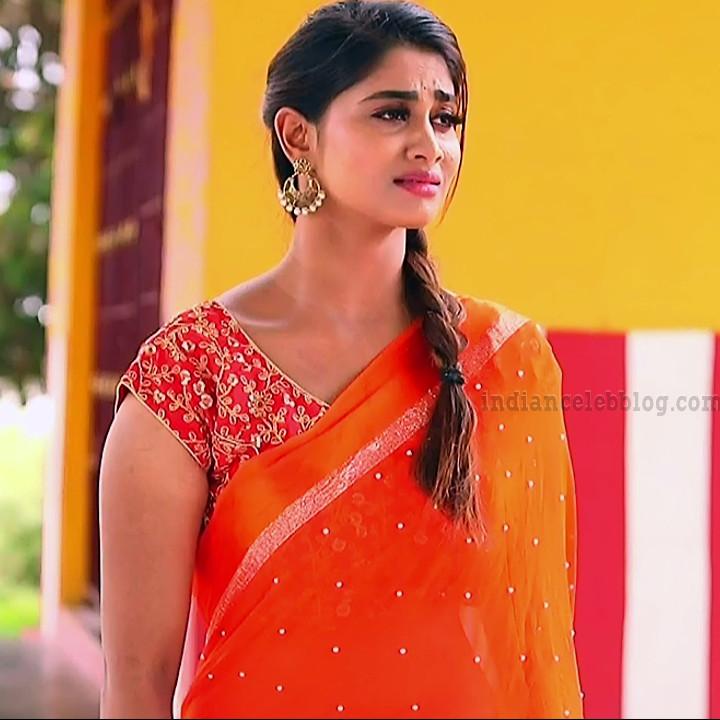 Shivani Narayanan pagal nilavu tamil serial actress pics