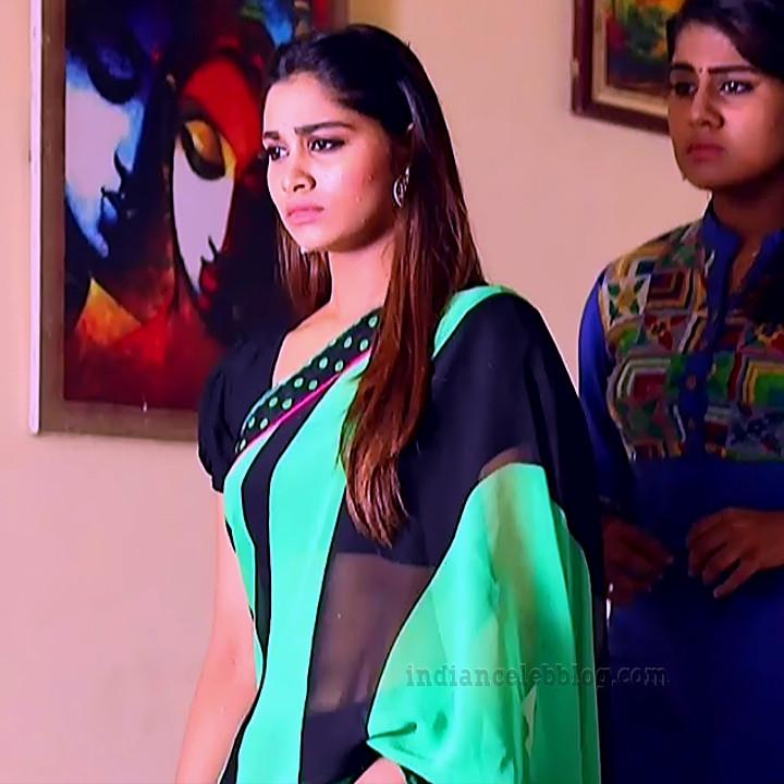 Shivani pagal nilavu S1 3 tamil tv serial actress saree photo