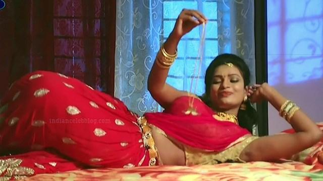 Telugu TV serial actress MscC5 7 saree pic