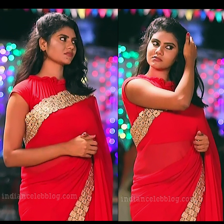 Nivisha tamil tv actress eeramana rojave s1 5 saree pics