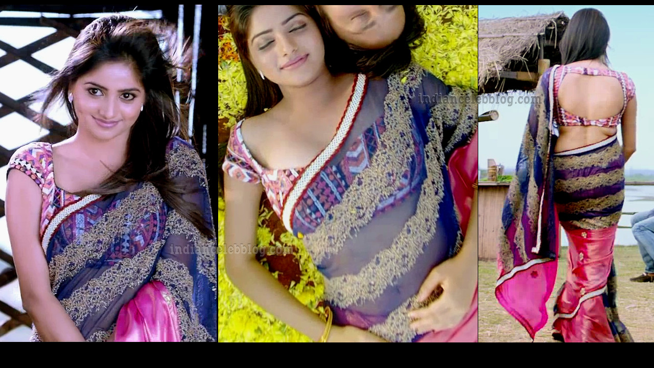 Rachita Ram hot backless saree HD caps from Raana