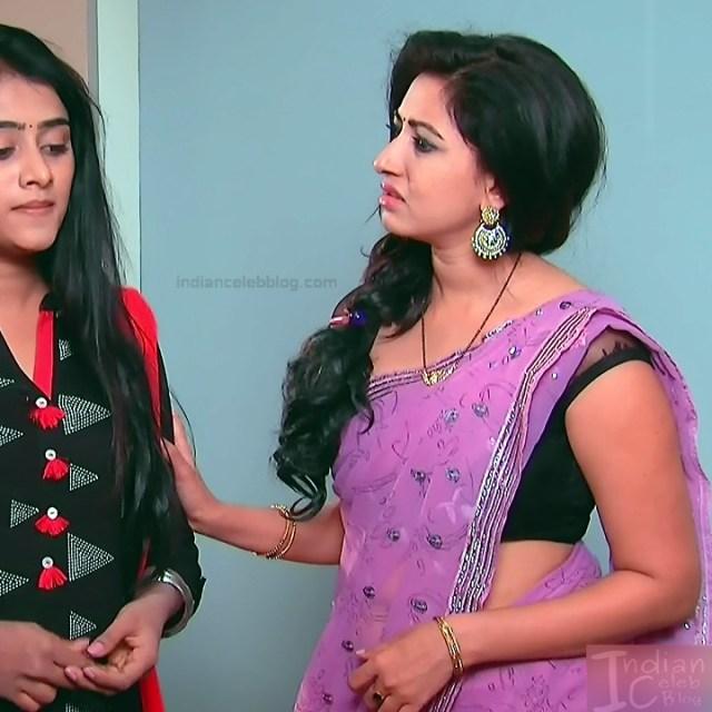 Revathi Tene manasulu tv actress S1 1 sari photo