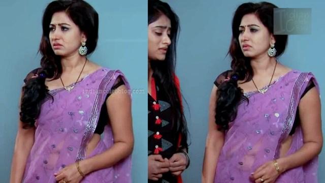 Revathi telugu tv serial actress S1 8 sari photo