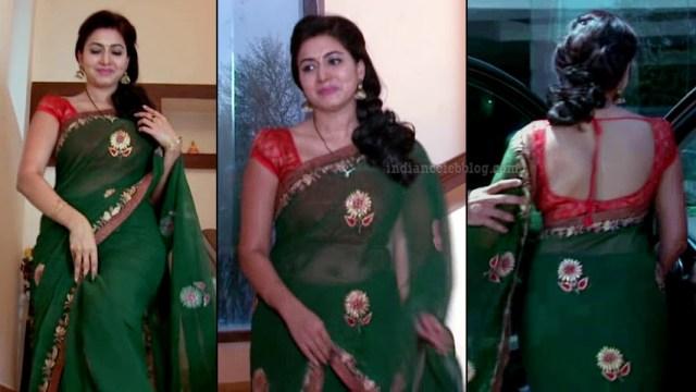 Revathi telugu tv serial actress S1 9 sari photo
