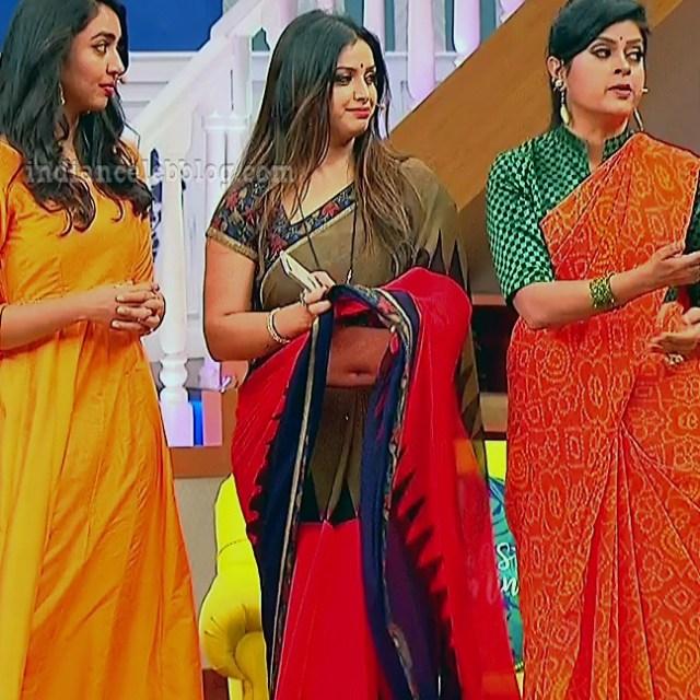 Shwetha chengappa Majaa talkies s2 2 hot saree pics