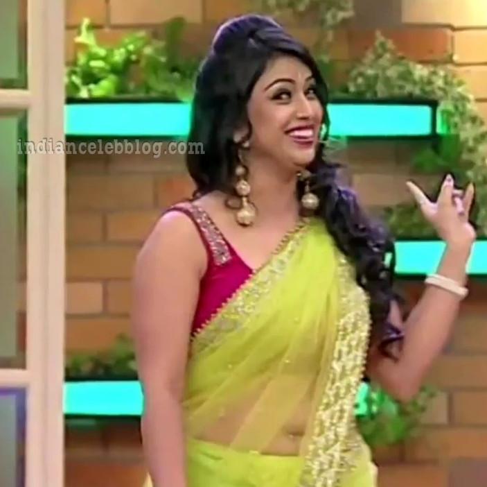 Shwetha chengappa Majaa talkies s2 20 hot saree pics