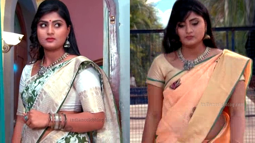 Tena Manasulu Telugu TV actress UKAS1 3 saree pics
