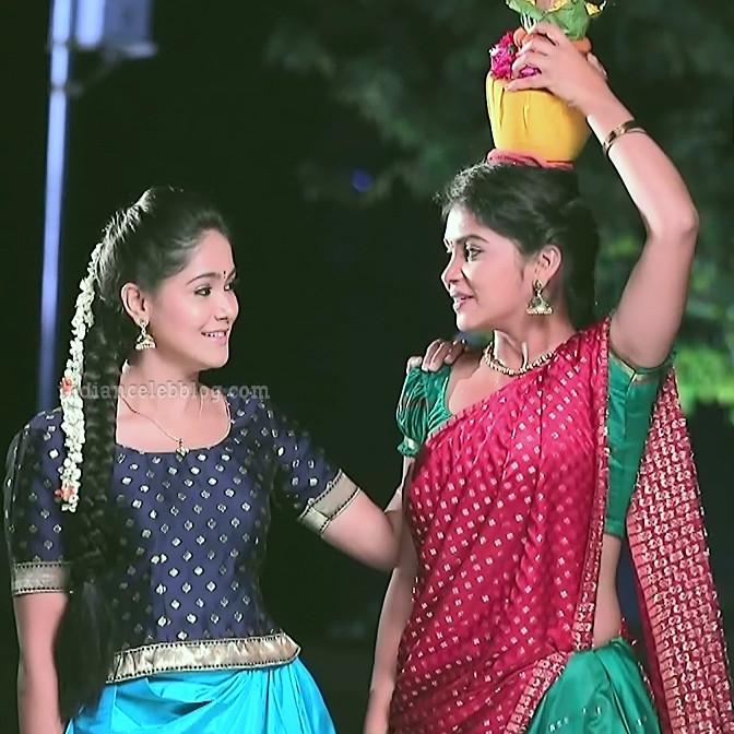 Amulya Gowda Kamali kannada serial actress S1 6 photo