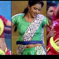 Bhavana Telugu TV anchor Rangasthalam hot dance