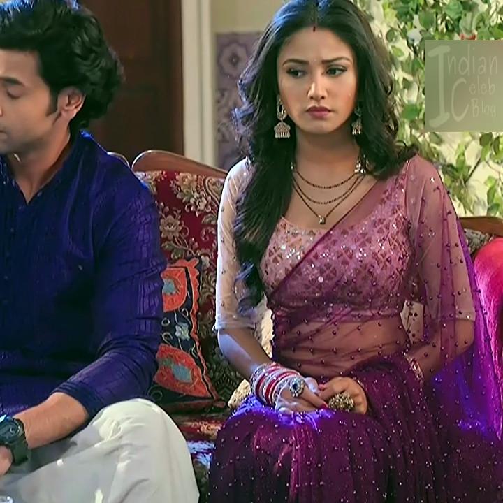 Donal bisht roop mard serial actress S2 1 saree photo