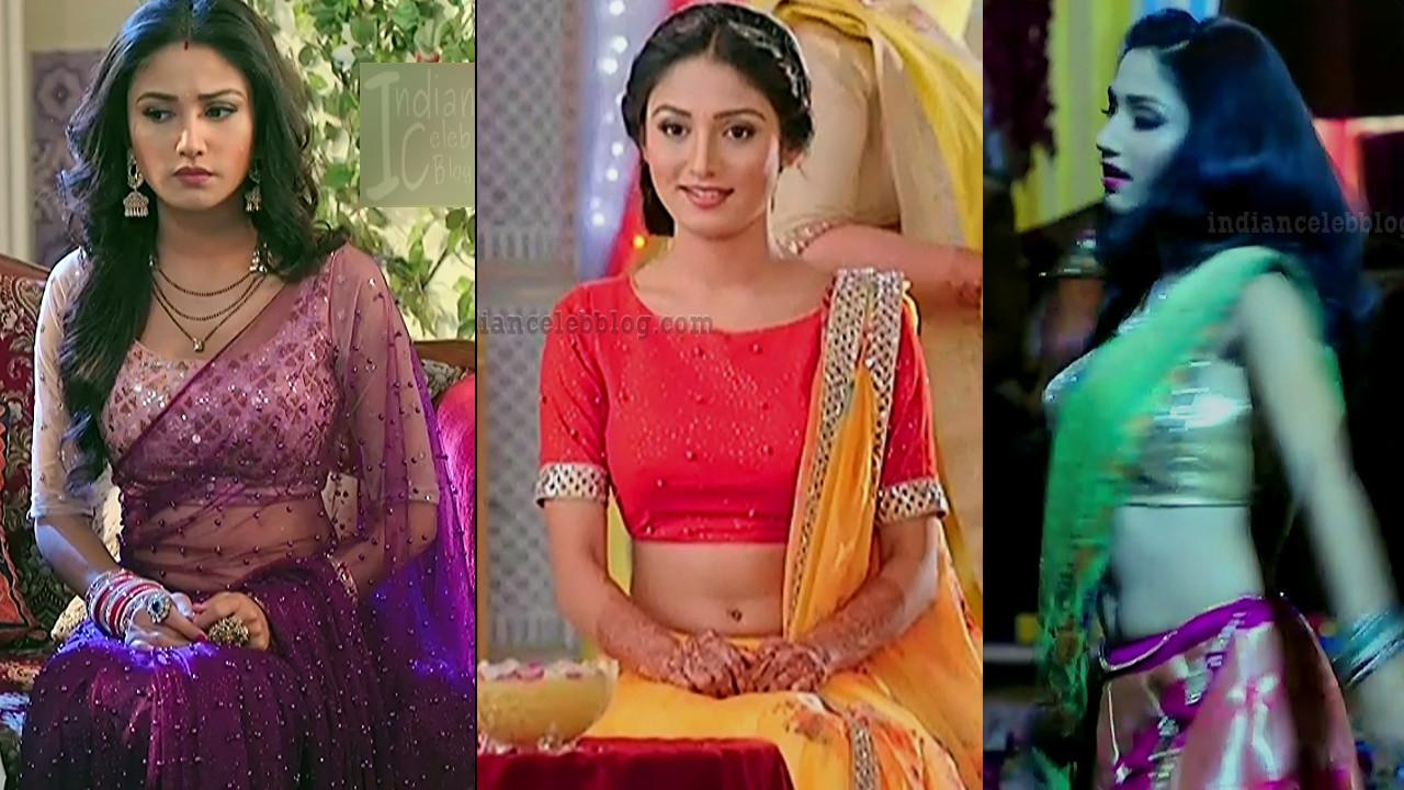 Donal Bisht sexy navel show Roop hindi tv serial HD caps
