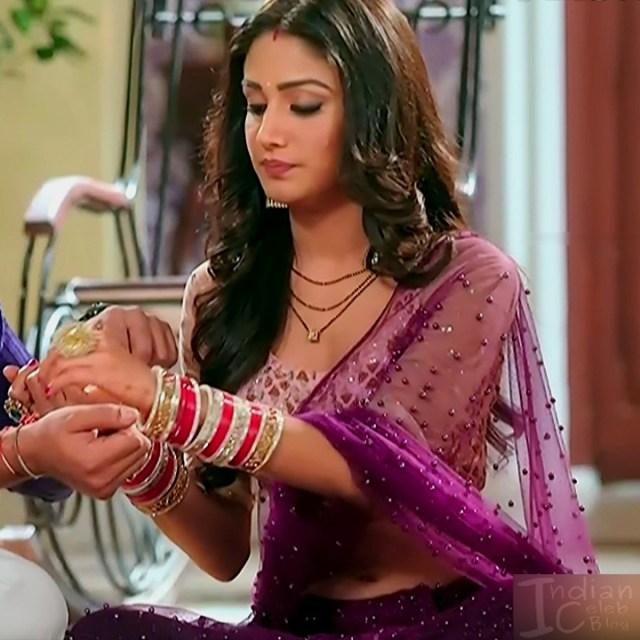 Donal bisht roop mard serial actress S2 5 sari photo