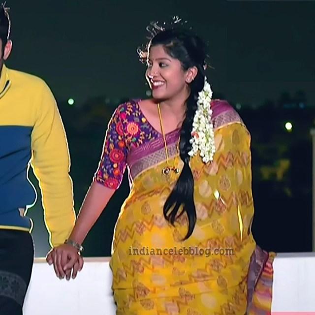 Meghana shankarappa kannada tv actress Kinnari S4 11 saree photo