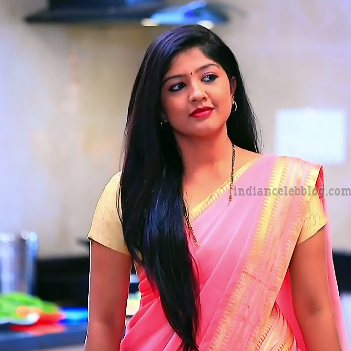 Meghana shankarappa kannada tv actress Kinnari S4 12 saree photo