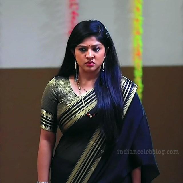 Meghana shankarappa kannada tv actress Kinnari S4 3 sari pic