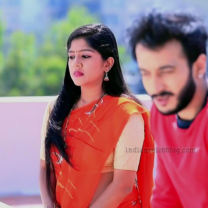Meghana shankarappa kannada tv actress Kinnari S4 4 sari pic