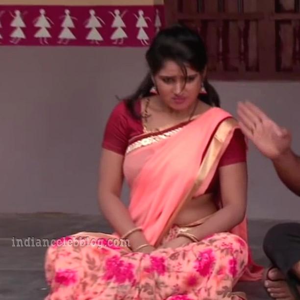 Monisha nandhini telugu serial actress s3 8 hot saree photo