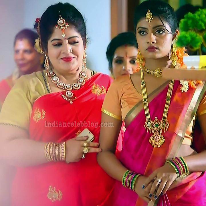 Nakshatra srinivas Maya tamil serial S2 2 hot saree pic