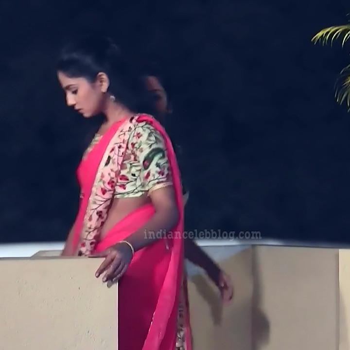 Raksha gowda Putmalli serial actress S2 8 saree pic