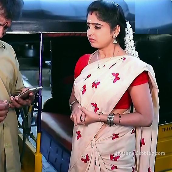 Shyamili Nayar Devathaiyai kanden actress S1 32 saree pic
