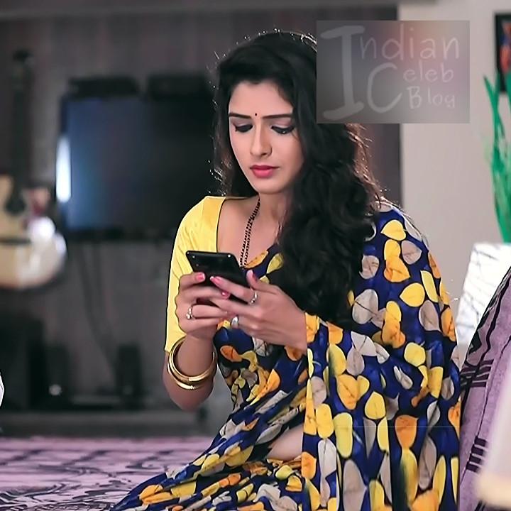 Supritha sathyanarayan kannada tv actress SeethaVS1 18 saree photo