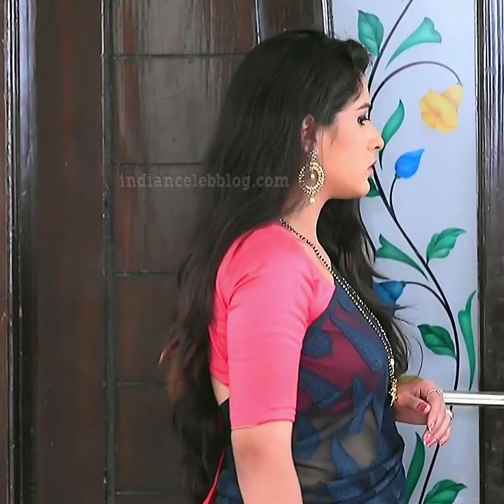 Supritha sathyanarayan kannada tv actress SeethaVS1 20 saree photo