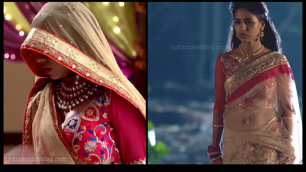 TV actress Veebha Anand sexy navel show HD Caps