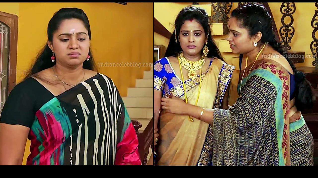 Sandhya Jagarlamudi hot saree Caps from Vamsam