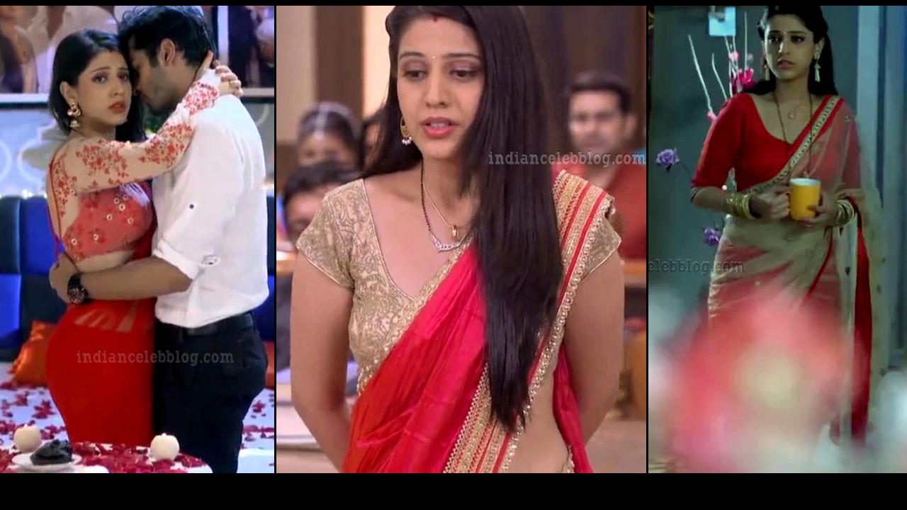 Simran Pareenja sexy backless blouse saree HD TV caps
