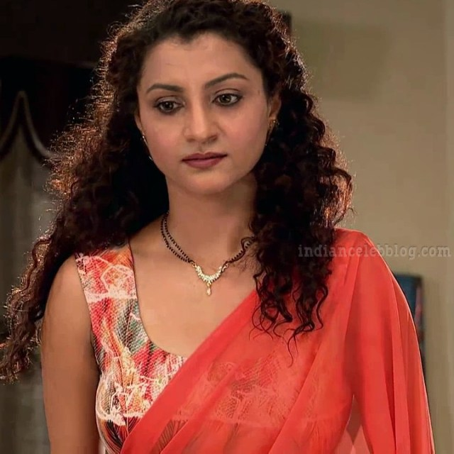 Isha sharma hindi tv actress JamaiRS1 1 saree photo