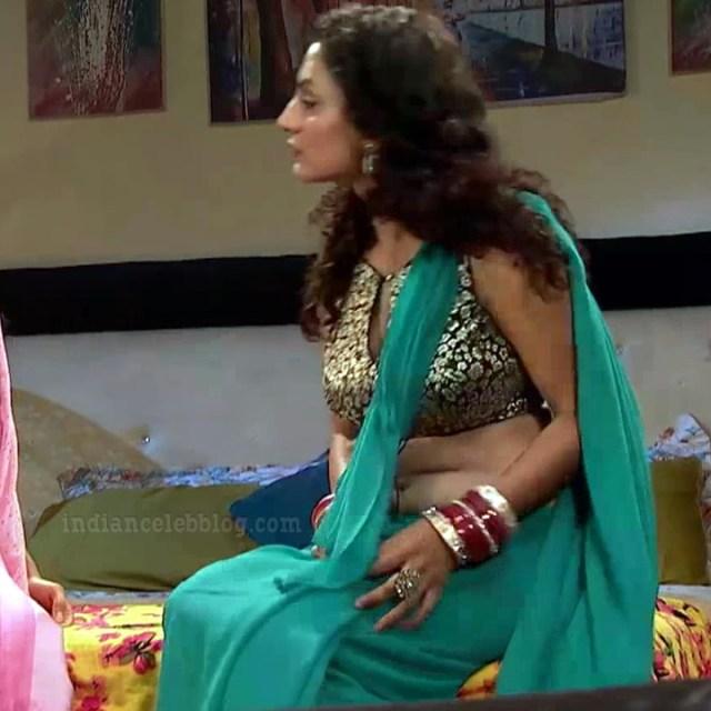 Isha sharma hindi tv actress JamaiRS1 3 saree photo