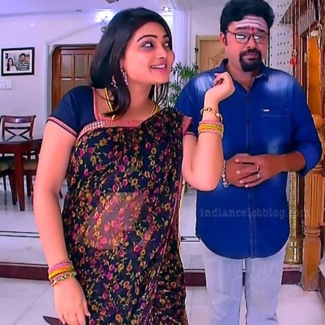 Priyanka nalkari roja serial actress S2 3 saree photo
