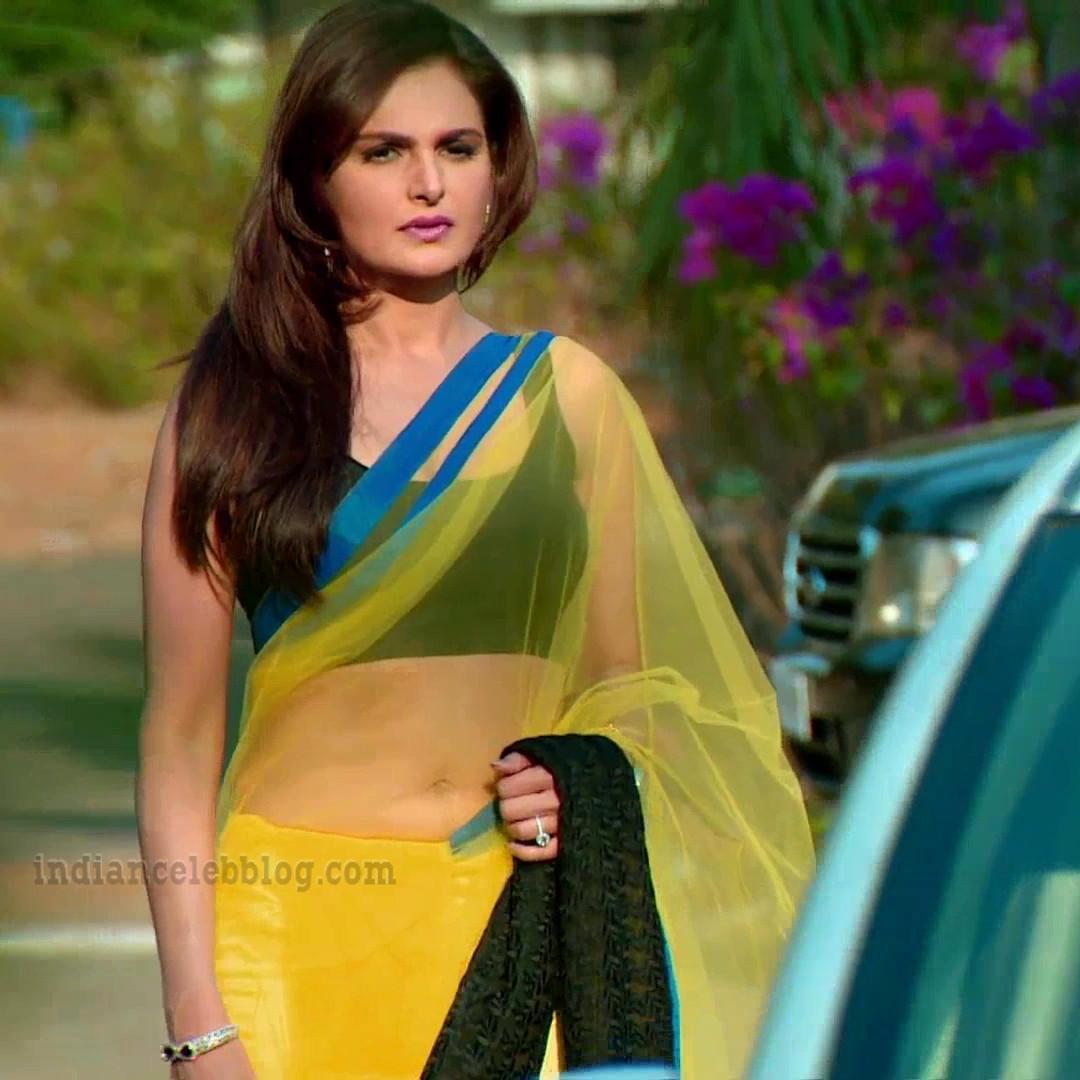 Monica Bedi Hindi TV actress YTDS2 6 hot saree photo