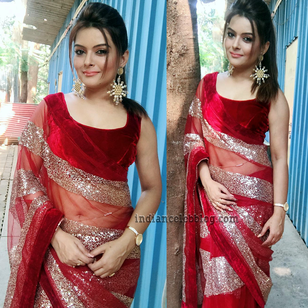 Shilpa Raizada Hindi TV actress CTS1 11 hot saree photo