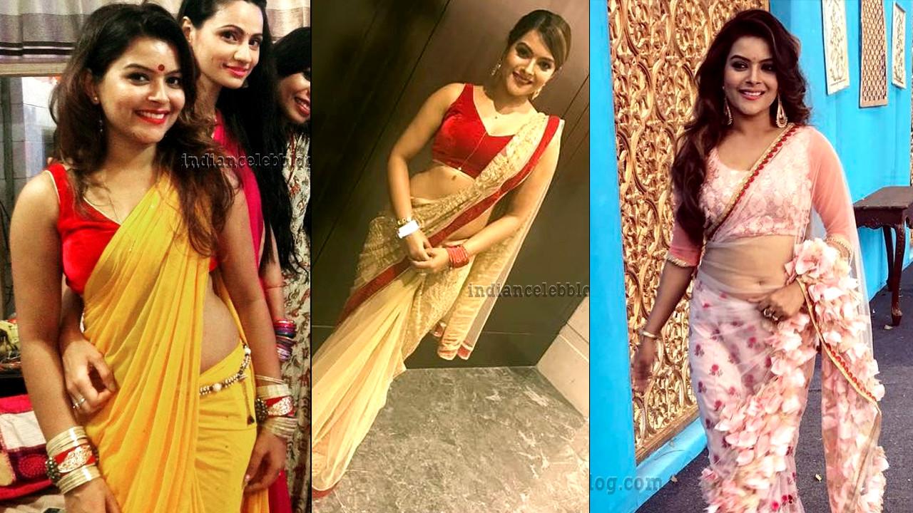 Shilpa Raizada hind tv actress hot saree pics gallery