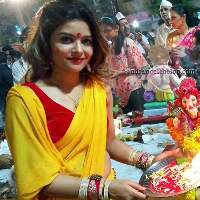 Shilpa Raizada Hindi TV actress CTS1 3 hot saree photo