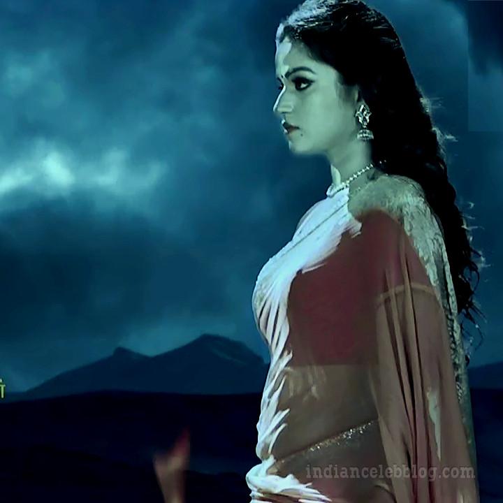 Nithya Ram Nandhini tamil serial S3 16 hot saree pics