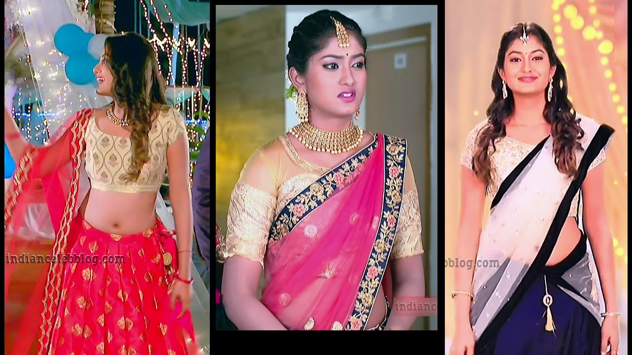Priyanka kannada tv actress hot navel show HD tv caps