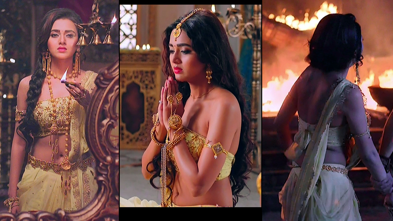 Tejaswi Prakash Caps from Karn sangini